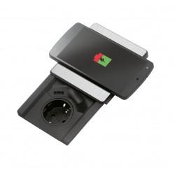 Evoline Square 80 1ST - Met USB én Qi deksel lader