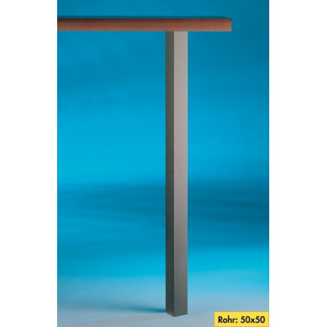 Kreta Vierkante voet aluminium
